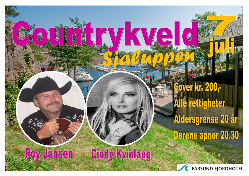 countrykveld i sjaluppen 2018